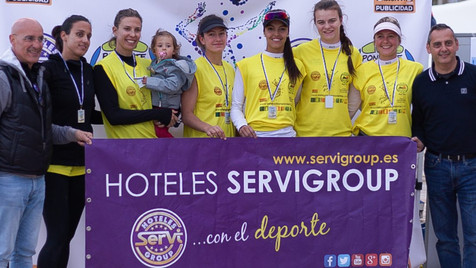 Éxito absoluto en la primera edición del I Open Servigroup Beach Volley