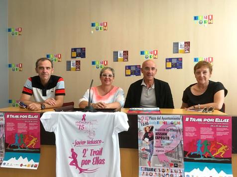 Fin de semana deportivo y solidario a beneficio de Anémona y su lucha contra el cáncer de mama