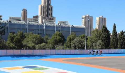 El Ayuntamiento adquirirá el suelo junto al Palau d'Esports para integrar el patinódromo