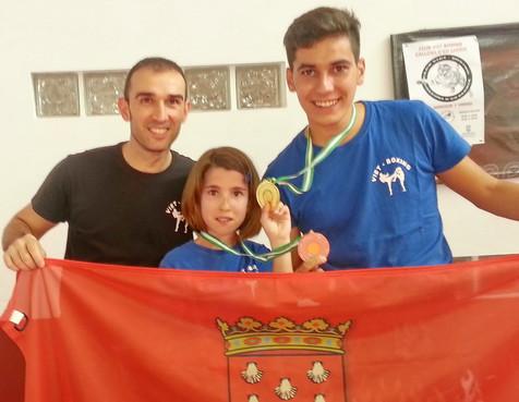 Dos nuevos podios para el Club Kick Boxing Callosa d´en Sarriá.