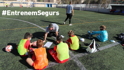 La Federació se pronuncia y pide a la Generalitat que deje entrenar a partir del 16 de febrero