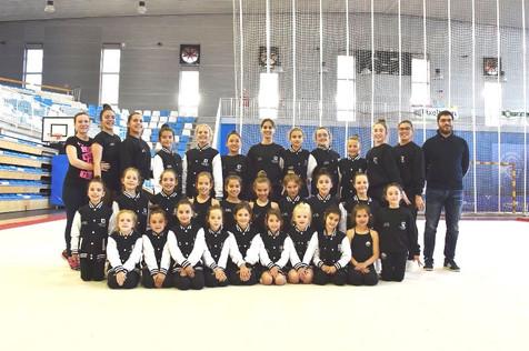 El Club de Gimnasia Rítmica Altea culmina una semana de éxitos con la participación de Aida Gomez en