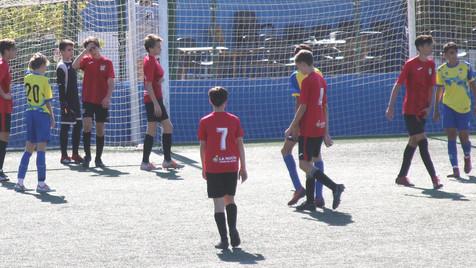 Vídeo resumen y galería de fotos del partido entre el Cadete C del CF la Nucía y CF Alfaz del Pi B