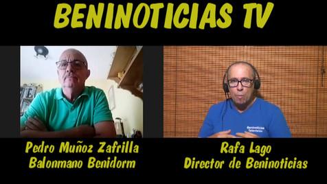 Entrevista a Pedro Muñoz sobre la eliminación del Balonmano Benidorm de la copa EHF