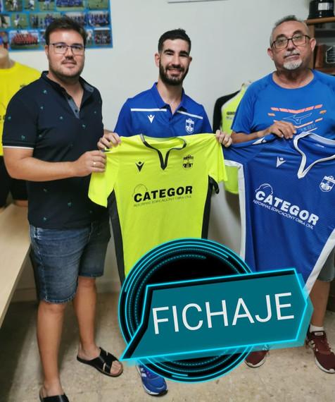 Francisco Sánchez García conocido por Fran, nuevo fichaje del filial del CF Benidorm