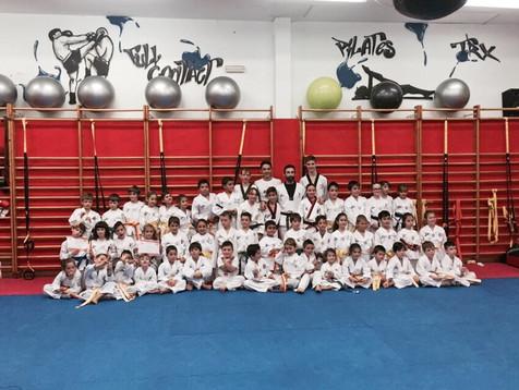 El Club Taekwondo Finestrat se clasifica como el tercer mejor de la Comunidad Valenciana