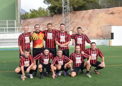 El Reg Dog lidera la Liga del Fútbol 7 Veteranos