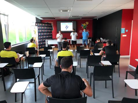 El Estadi Olímpic acogió las pruebas de ascenso de los árbitros de Fútbol Sala