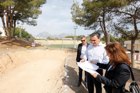 Comienzan las obras del futuro Skatepark de l'Alfàs del Pi