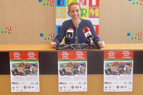 """La VI Feria """"Fedibenisport"""" permitirá a los escolares de Benidorm disfrutar de ocio y deporte altern"""