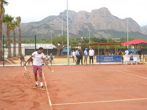 """170 tenistas de 55 países compiten en el """"Torneo Internacional David Ferrer"""""""