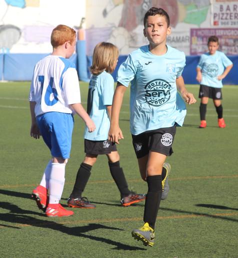 Galería de 57 fotografías del partido entre el Alevín A del CF Foietes y el Benisa
