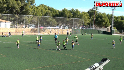 Vídeo resumen y entrevistas del partido entre el Benjamín C del CF Alfaz del Pi y el CD Polop B