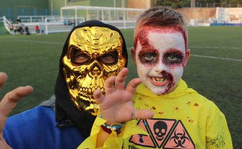 Halloween llega hasta el CF Foietes Benidorm