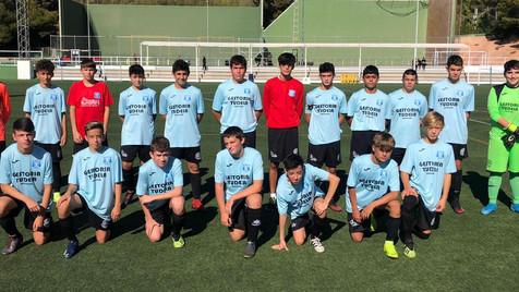 El Cadete del CF Foietes vence en su primer partido de liga al At. Callosa