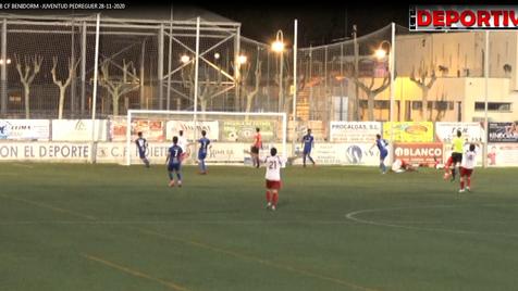 Vídeo resumen del partido entre el CF Benidorm y el Juventud de Pedreguer