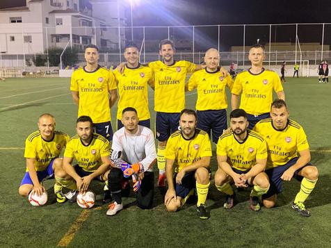 Comentario de audio de Jaume Pérez sobre la Liga de Fútbol 7 Veterano y la Liga de Invierno de Fútbo