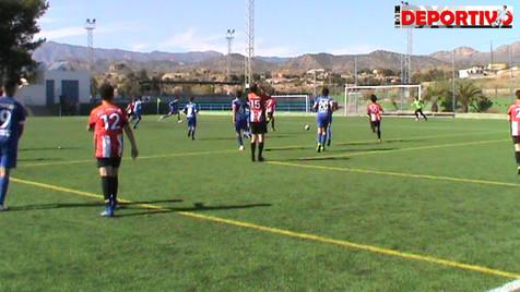 Vídeo resumen del partido entre el Cadete del At. Jonense y el CF Benidorm