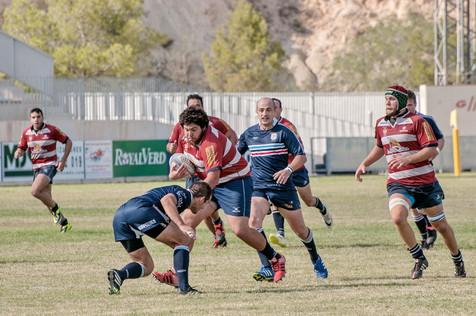 El Rugby la Vila machacó a su rival