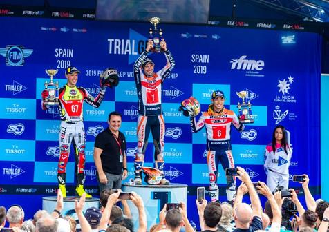 """Toni Bou completa un Mundial de Trial """"perfecto"""" en La Nucía"""