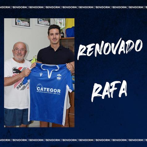 Rafa del Castillo renueva para la Temporada 21/22