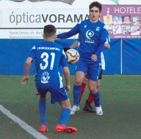 El Juvenil B del CF Benidorm empata frente al At. Callosa