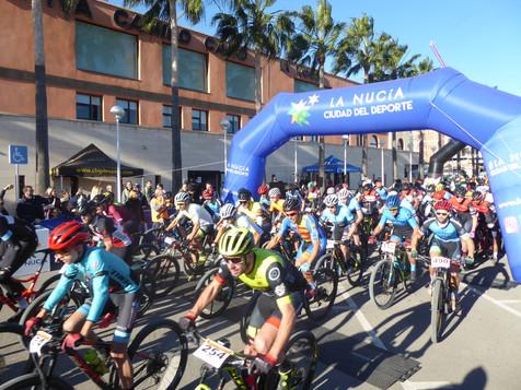 La Marcha de La Nucía cumplió 20 ediciones con 650 ciclistas