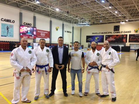 Seis medallas nucieras en el Europeo de Brazilian Jiu Jitsu celebrado en La Nucia