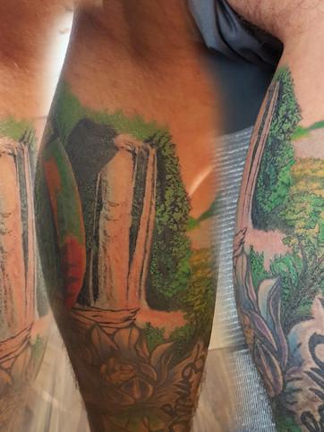 Jungle leg sleeve