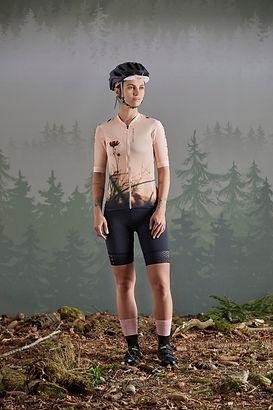 Велоджерси PushbikersM. Fem Race 1/2 (арт.31168) Велошорты PushbikersM. FemPants (арт.31169)