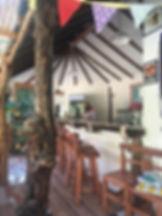 cafeteria interior ecocentro la ortiga elqui