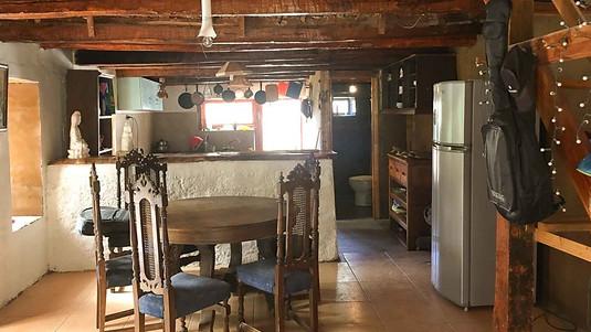 Interior Casa Ecocentro La Ortiga