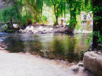 Poza de río en ecocentro