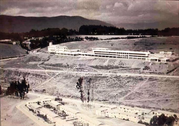 Vista aérea de la Universidad de Chile, Sede La Serena