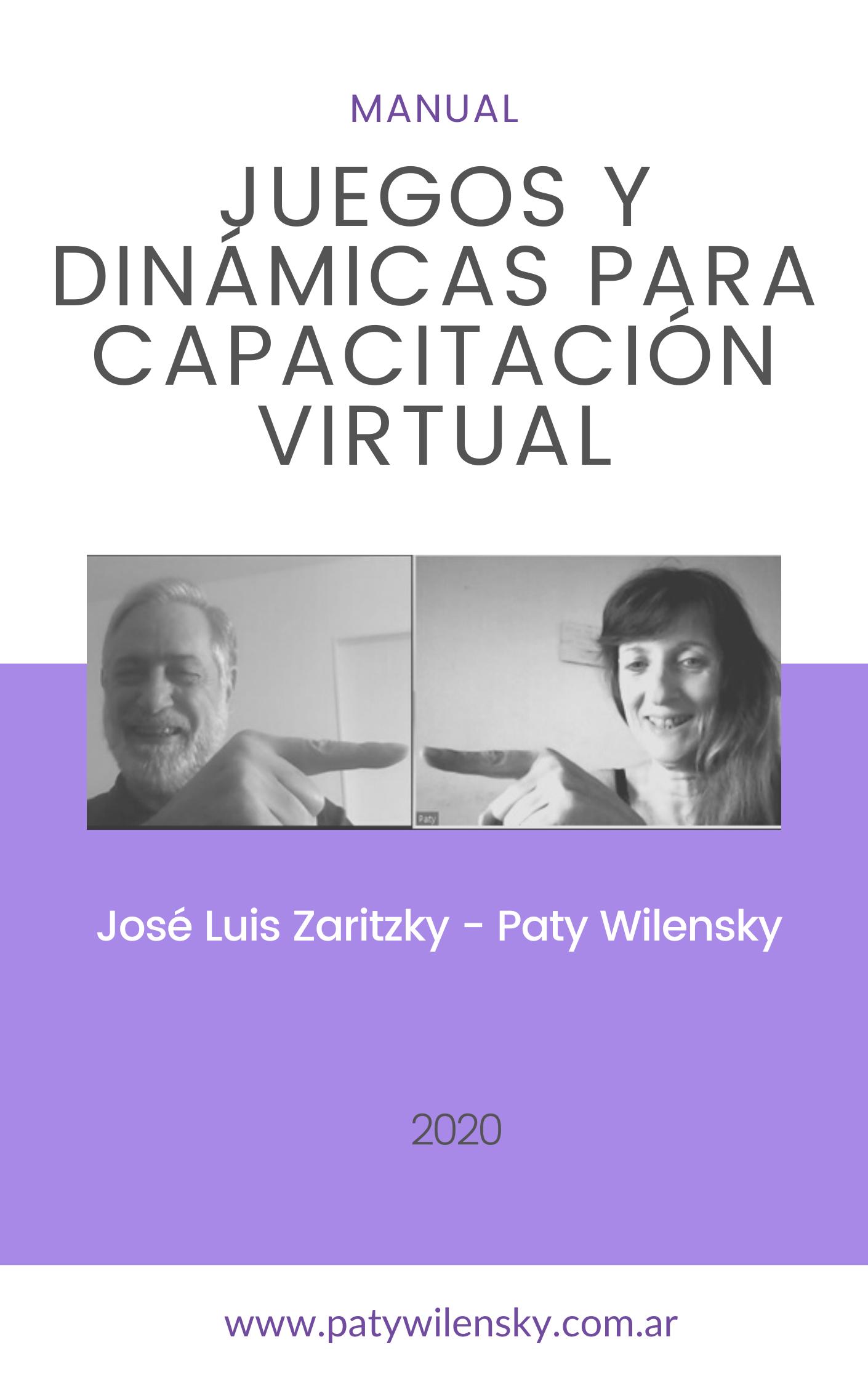 Manual para capacitación virtual