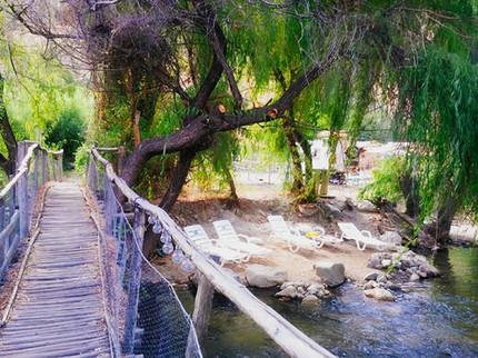 Puente en Ecocentro La Ortiga