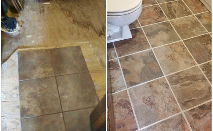 Extra bath/Laundry room