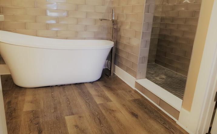 Full Bathroom Remodel after Flooding