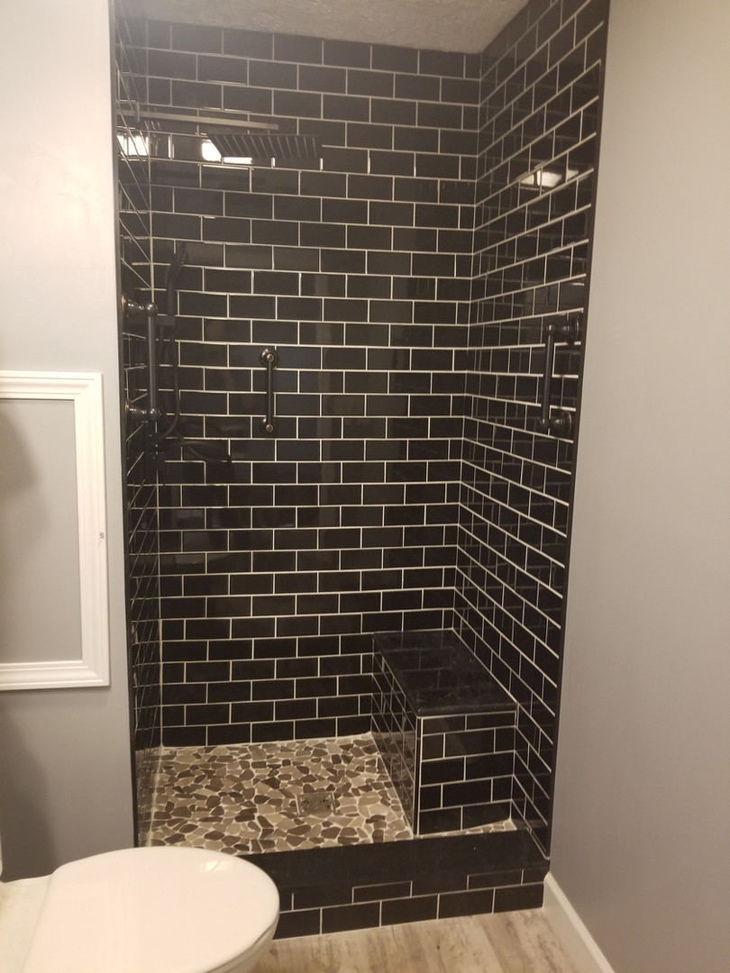 Walk In Shower Installation