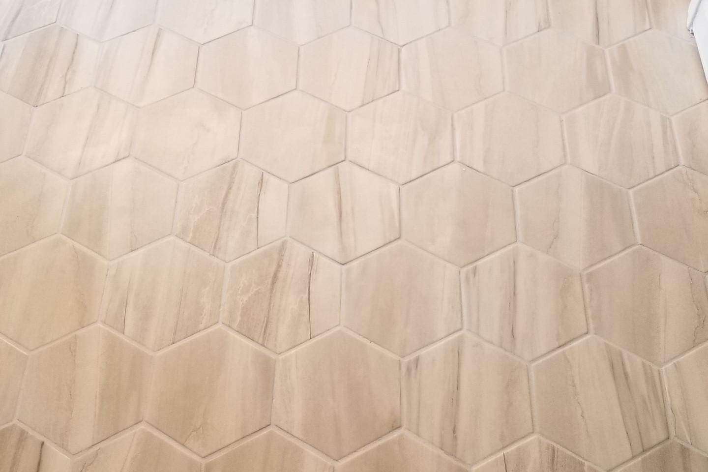 full tile floor installation