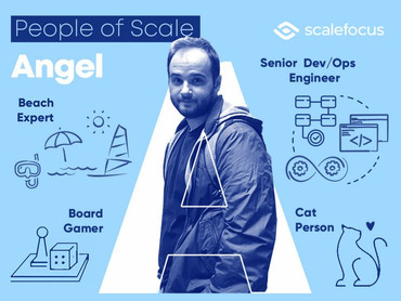 Angel, a Senior DevOps Engineer with a Taste for Yoga and Indie music
