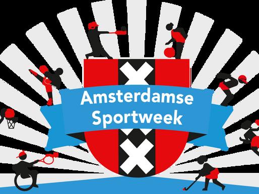 US Handbal doet mee aan Open je Club tijdens de Amsterdamse Sportweek