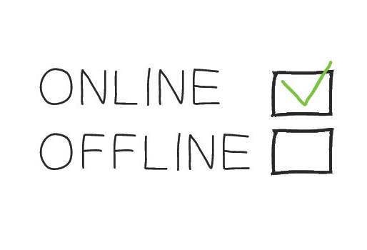 We're online!