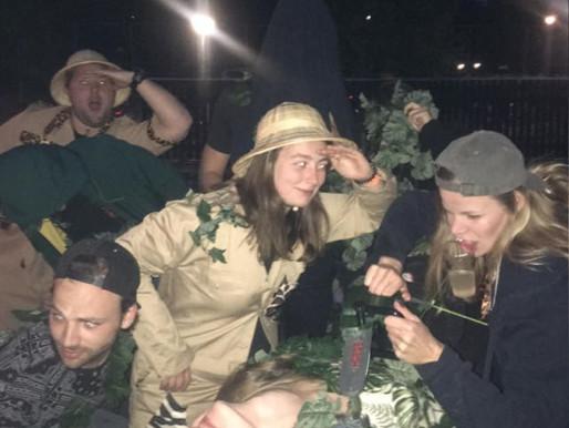 US rumbles in the jungle van Groningen