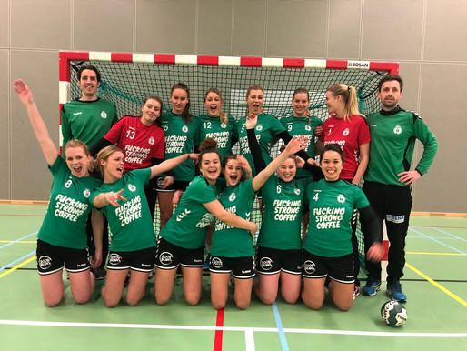 Dames 1 ging naar Aalsmeer en won ook deze keer!