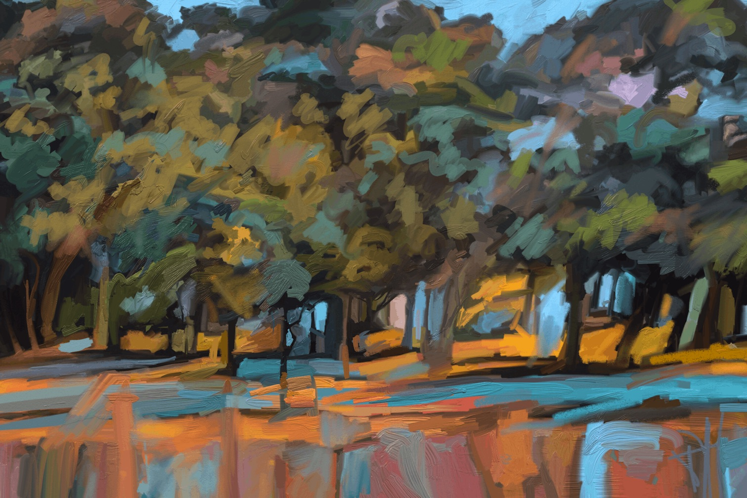 Across the Matanzas 20x14