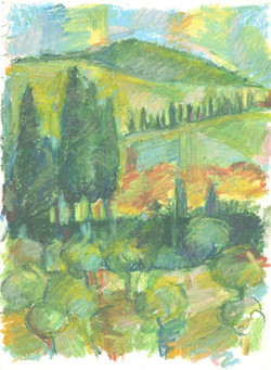 Tuscan Orchard
