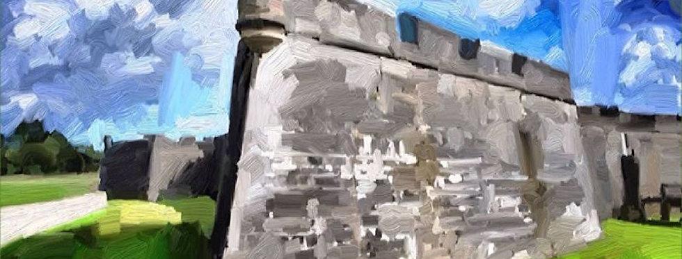 """Castillo Tower"" 15x10"" Gallery Wrap Canvas"