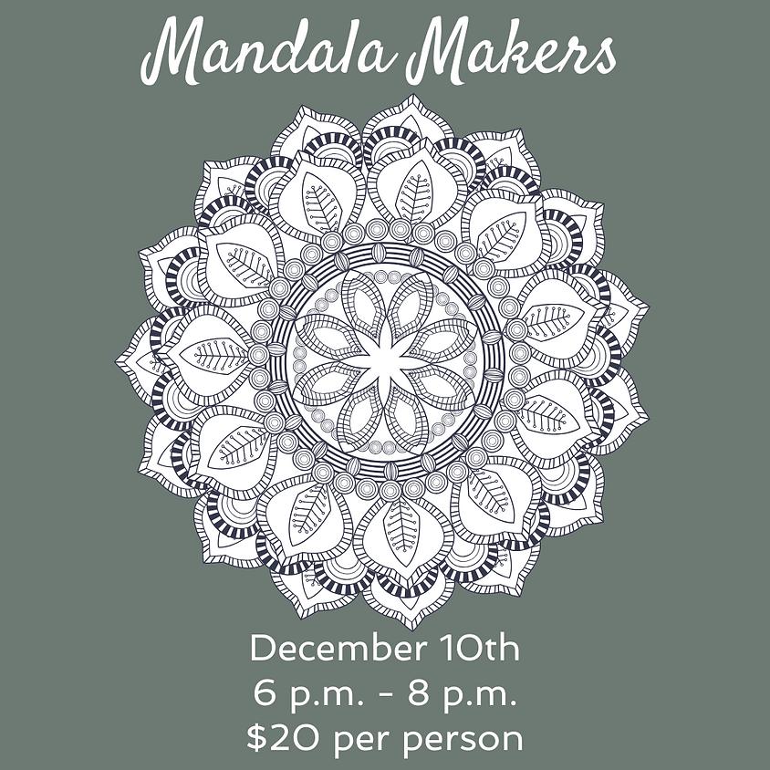 Mandala Making and Holiday Gathering at GUILD