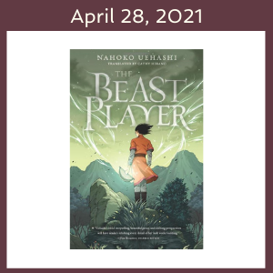 April 28, 2021 with The Beast Player book cover